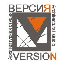 Logotip vodyanoy znak arhitekturnaya studiya versiya med