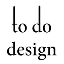 To do design med