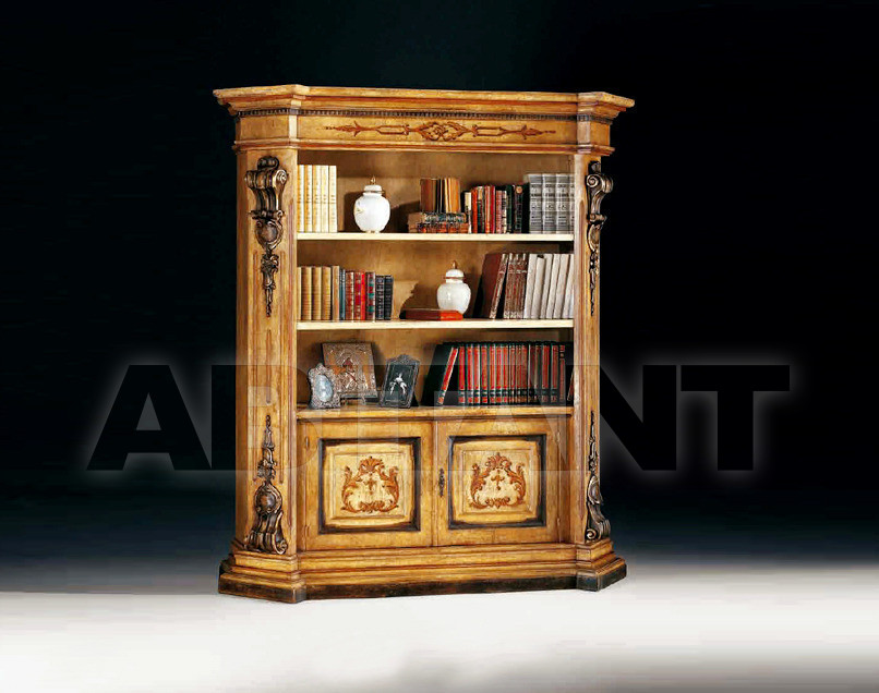 Купить Шкаф книжный Arve Style  Canaletto CN-0903-G