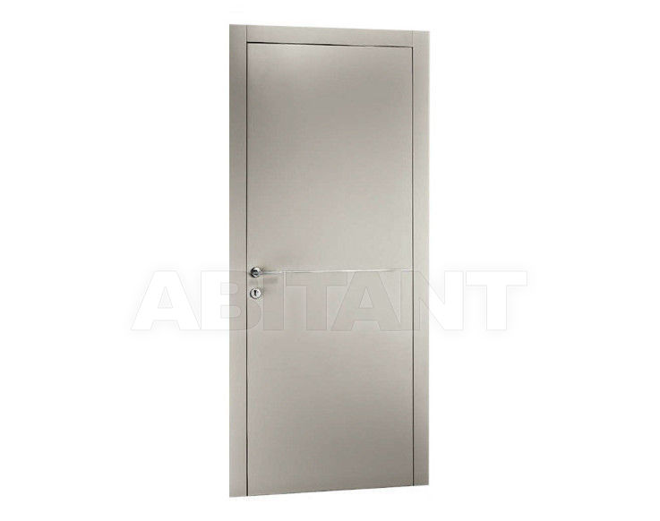"Купить Дверь деревянная Dorica Castelli Laccati SERIE ""ALL"" modello 1 + ALLUMINIO 1"