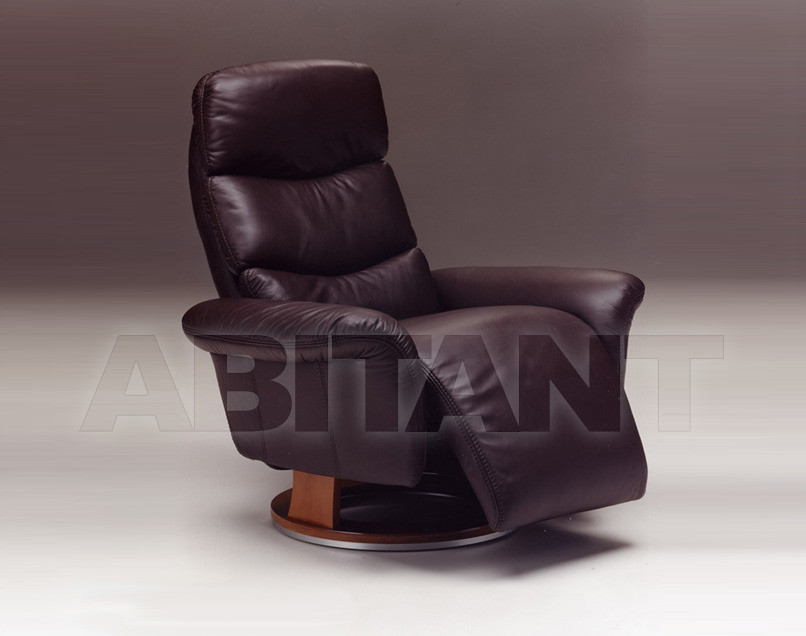 Купить Кресло COIMBRA Satis S.p.A Collezione 2011 COIMBRA Armchair Swivel (incorporated footrest)