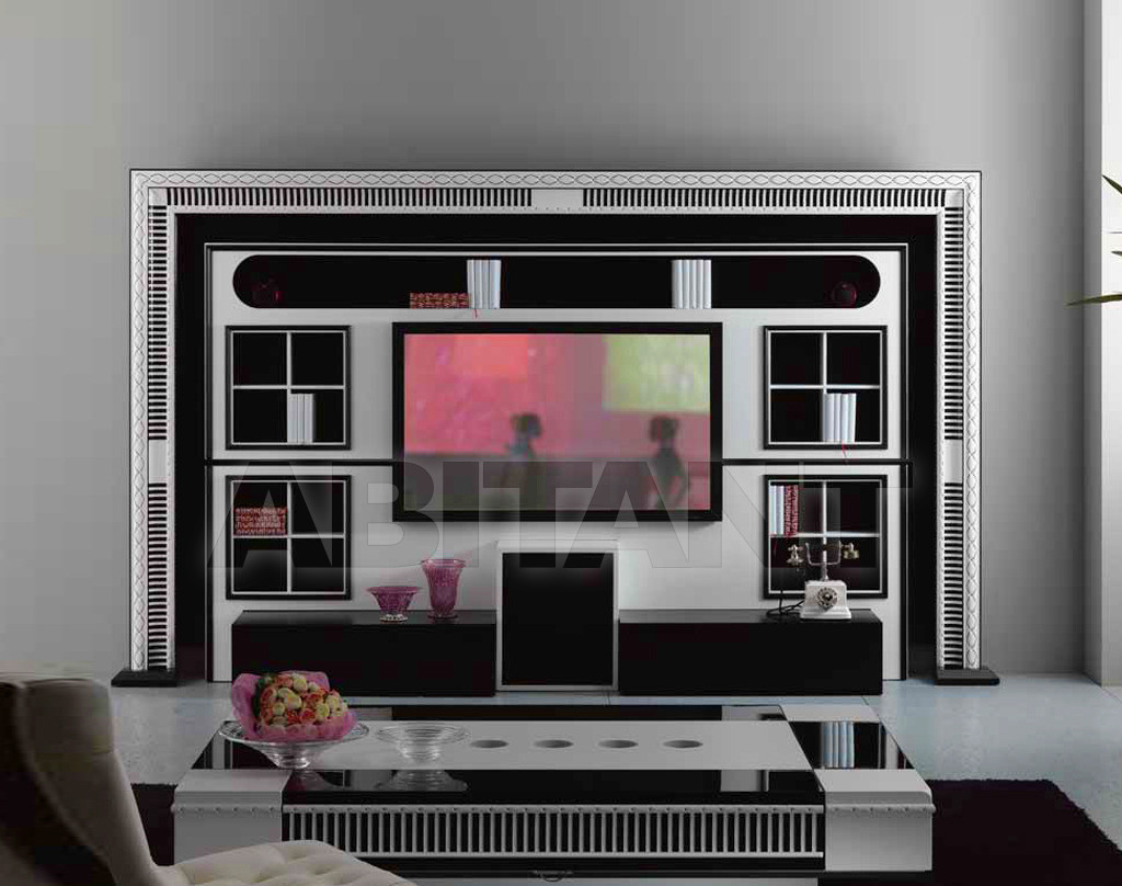 Купить Модульная система Vismara Design Art Deco THE WALL - HOME CINEMA ART DECO