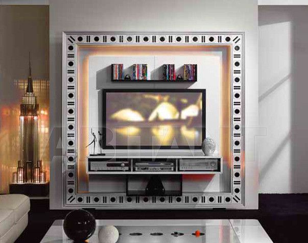 Купить Стойка под аппаратуру Vismara Design Glass Eyes THE FRAME - HOME CINEMA GLASS EYES
