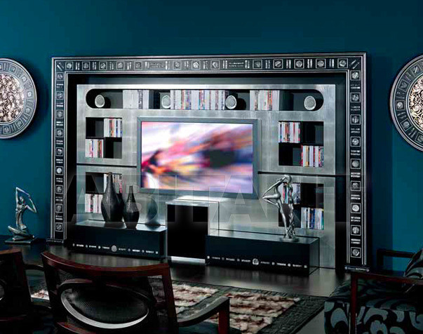 Купить Модульная система Vismara Design Glass Eyes THE WALL - HOME CINEMA SILVER EYES