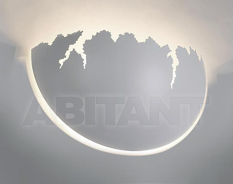 Купить Светильник настенный Disegno Luce Srl 2011 ARTIC W 36X20 CM WHITE