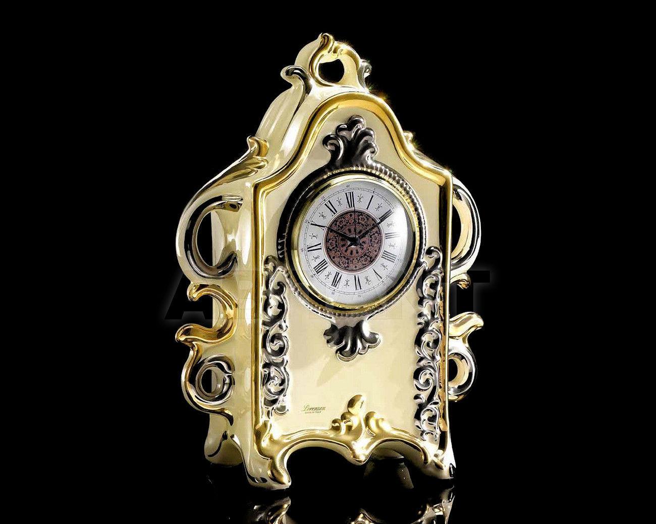 Купить Часы настольные Ceramiche Lorenzon  Complementi L.662/AVOP