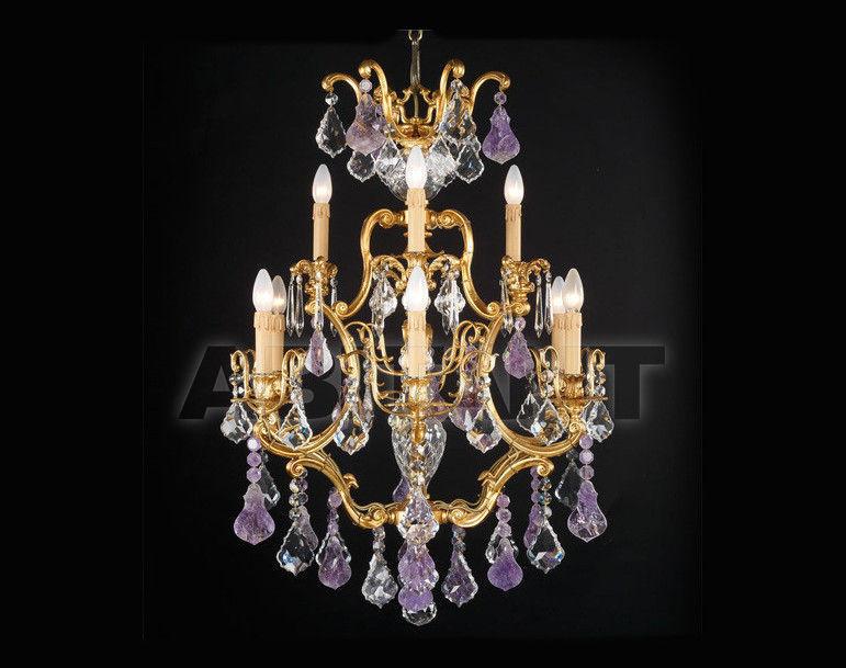 Купить Люстра Badari Lighting Candeliers With Crystals B4-38/9AM+TR