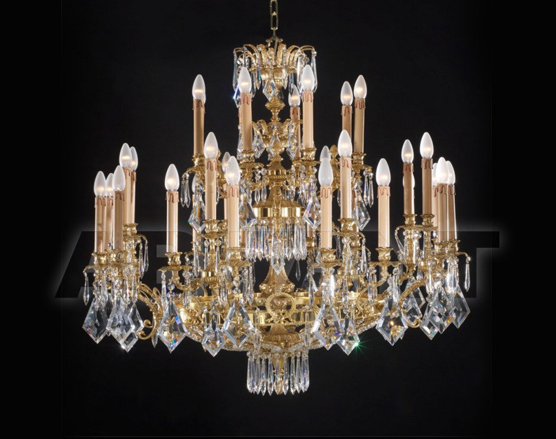 Купить Люстра Badari Lighting Candeliers With Crystals B4-420/32