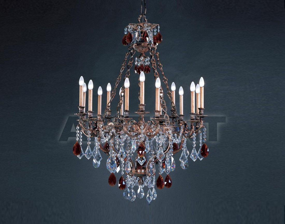 Купить Люстра Badari Lighting Candeliers With Crystals B4-440/15AMBER