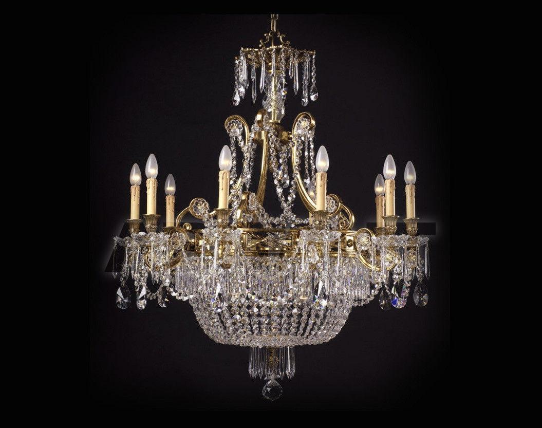 Купить Люстра Badari Lighting Candeliers With Crystals B4-707/10+3