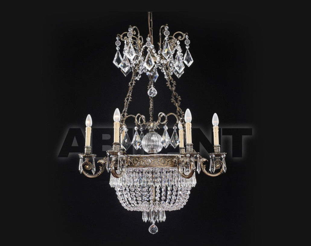 Купить Люстра Badari Lighting Candeliers With Crystals B4-706/6+3