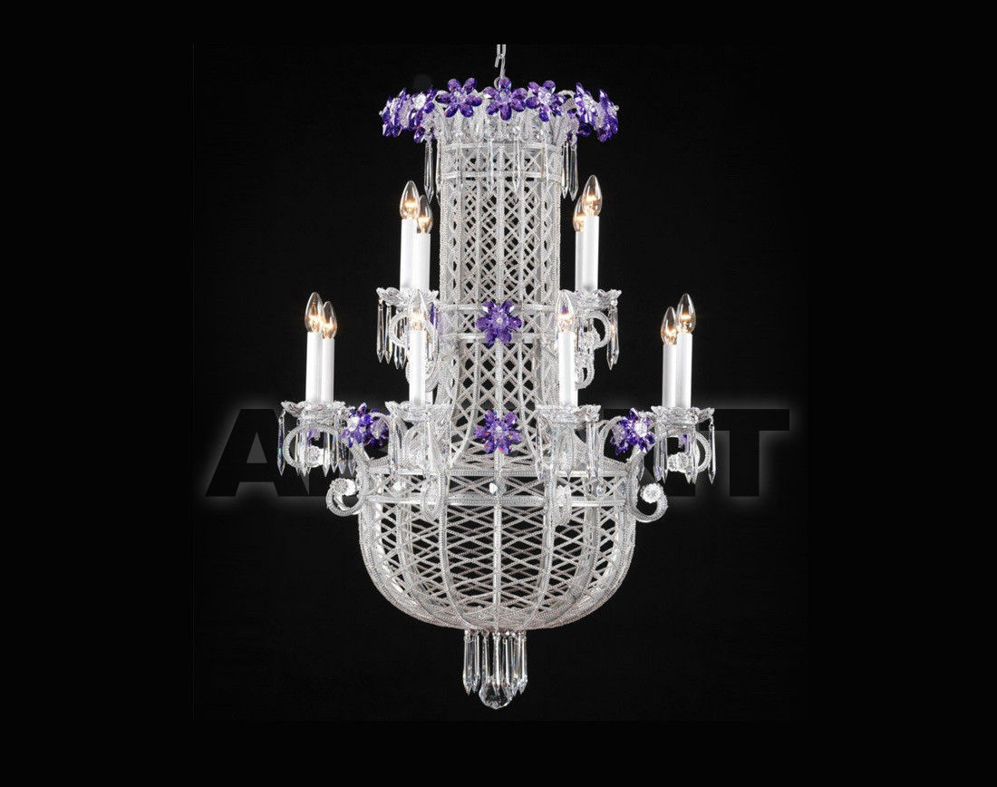 Купить Люстра Badari Lighting Candeliers With Crystals B4-75/12SW