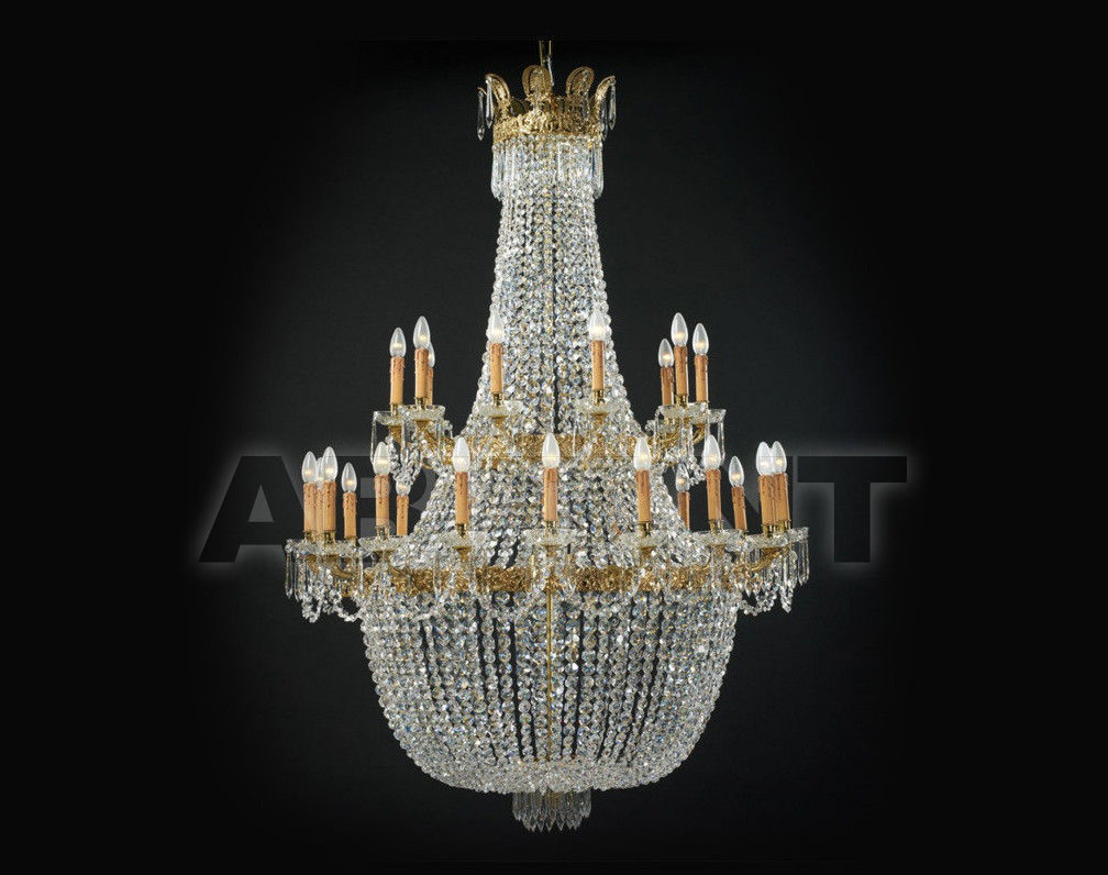 Купить Люстра Badari Lighting Candeliers With Crystals B4-728/28AF