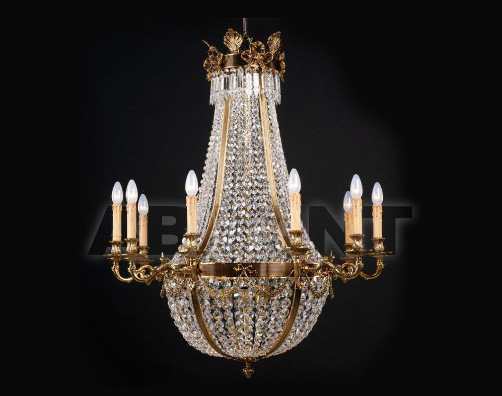Купить Люстра Badari Lighting Candeliers With Crystals B4-790/10AF