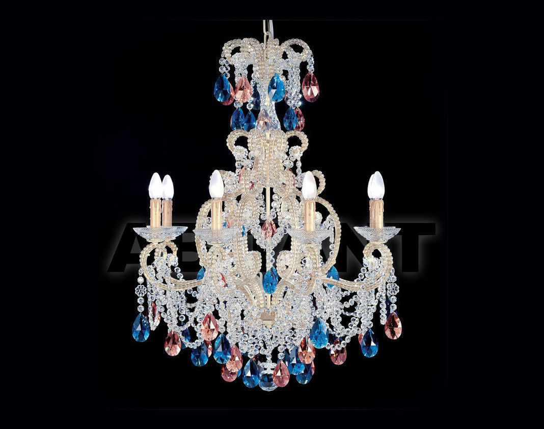 Купить Люстра Badari Lighting Candeliers With Crystals B4-55/8MULTIC
