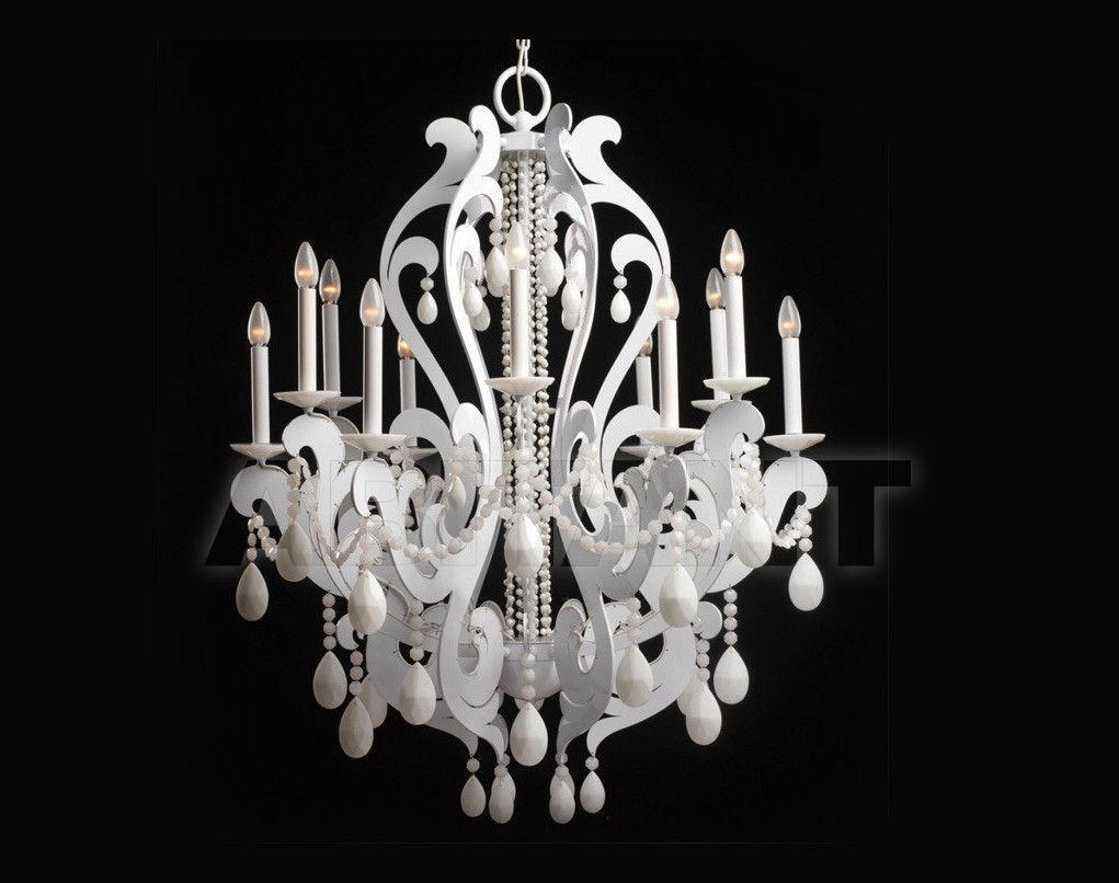 Купить Люстра Badari Lighting Candeliers With Crystals B4-30012 WHT