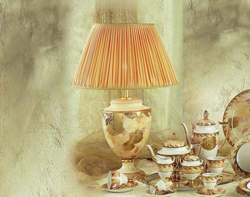Купить Лампа настольная Sarri Golden Roses 74858G M42
