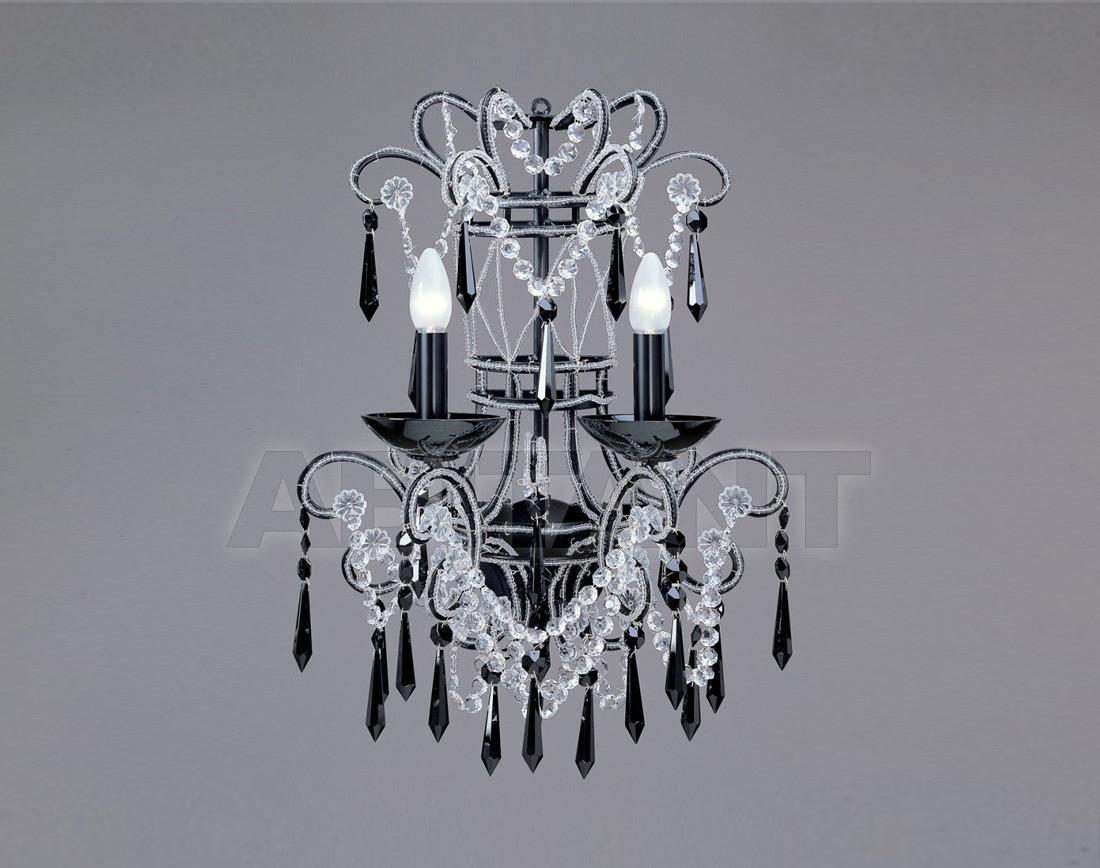 Купить Светильник настенный Badari Lighting Wall Lamps With Crystals A8-44/2F.BLACK