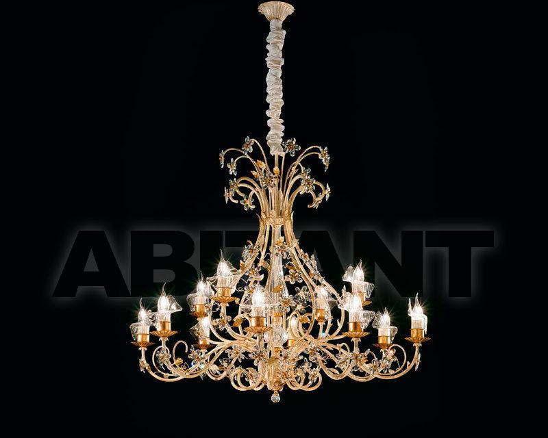 Люстра золотая Renzo del Ventisette & C. S.A.S 14364/8+4 , каталог ...