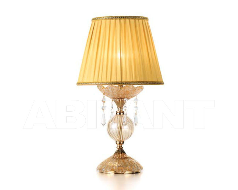 Купить Лампа настольная Ciciriello Lampadari s.r.l. Lighting Collection GOCCIA ambra lume piccolo