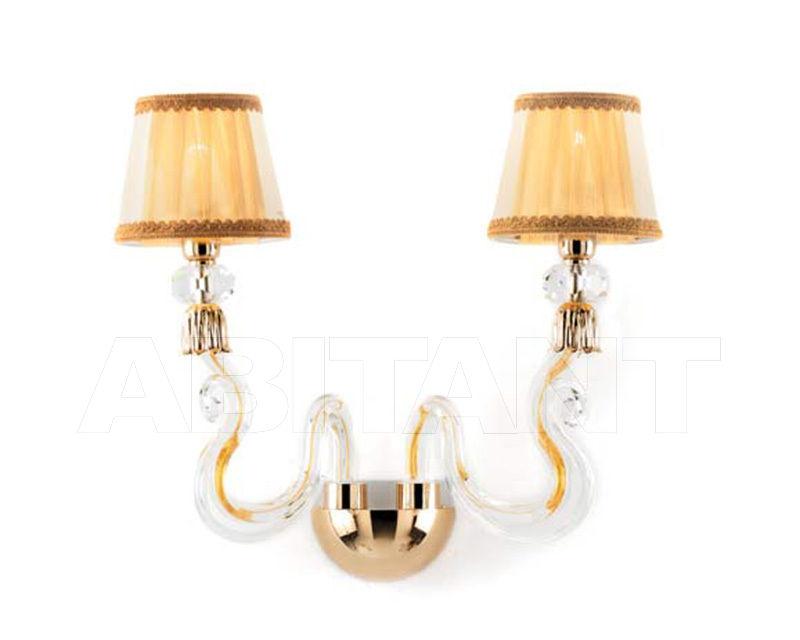 Бра золотое ciciriello lampadari s r l petunia applique luci