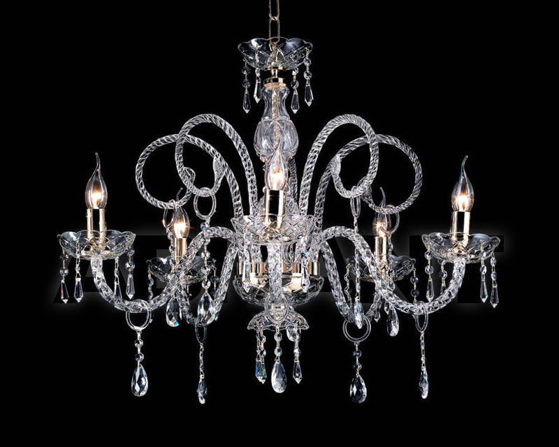 Купить Люстра Ciciriello Lampadari s.r.l. Lighting Collection MARIA TERESA T4 lampadario 5 luci
