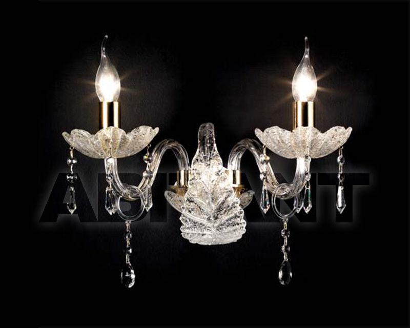 Купить Бра Ciciriello Lampadari s.r.l. Lighting Collection GOCCIA cristal applique 2 luci