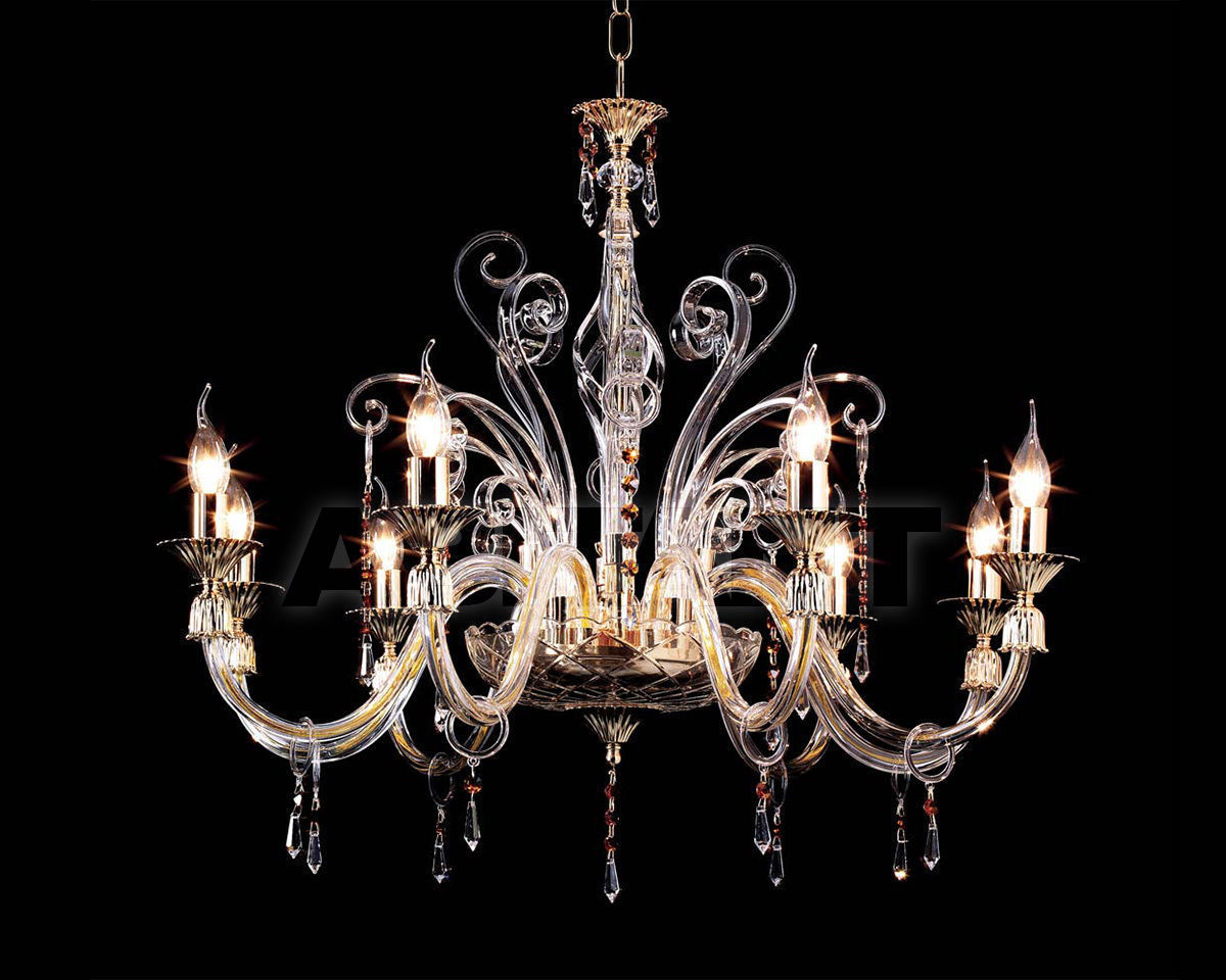 Купить Люстра Ciciriello Lampadari s.r.l. Lighting Collection INGRID lampadario 8 luci