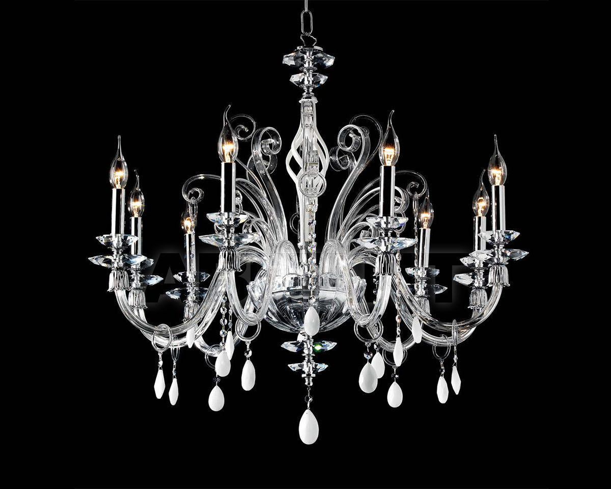 Купить Люстра Ciciriello Lampadari s.r.l. Lighting Collection MIRIAM lampadario 8 luci