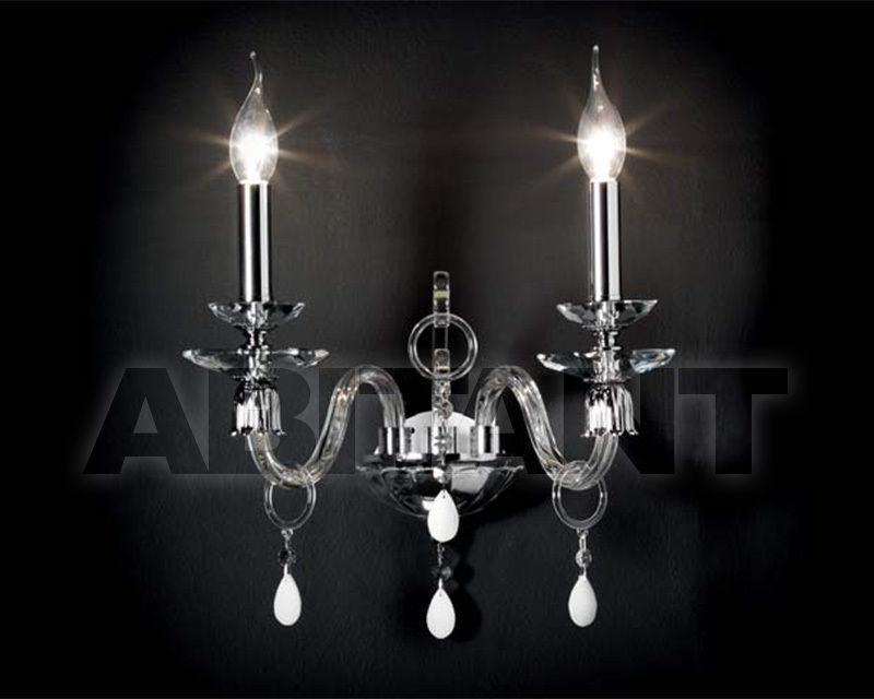 Купить Светильник настенный Ciciriello Lampadari s.r.l. Lighting Collection MIRIAM applique 2 luci