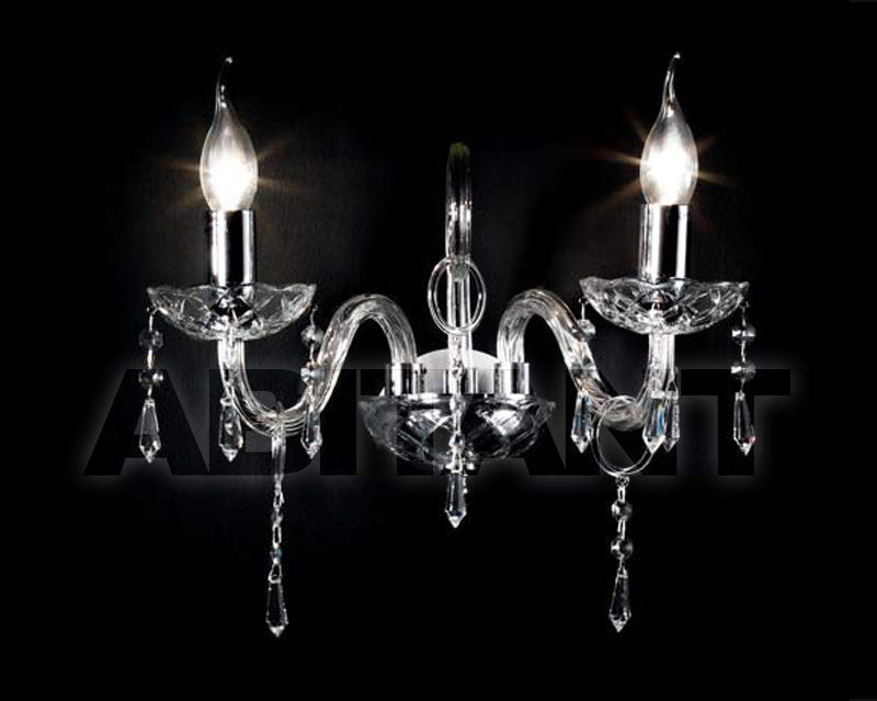 Купить Бра Ciciriello Lampadari s.r.l. Lighting Collection CARMEN applique 2 luci
