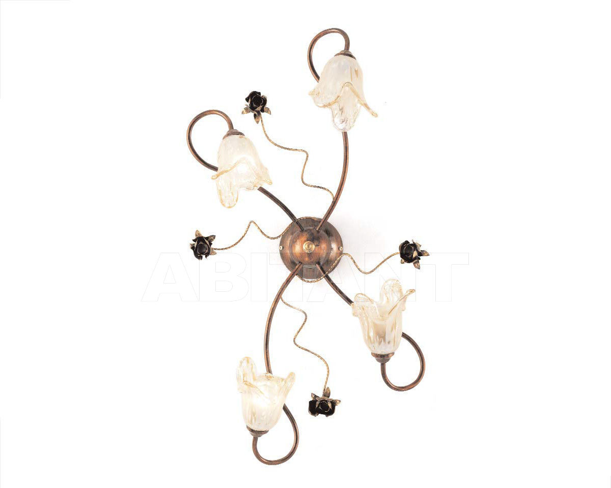 Купить Люстра Ciciriello Lampadari s.r.l. Lighting Collection NOEMI plafoniera 4 luci
