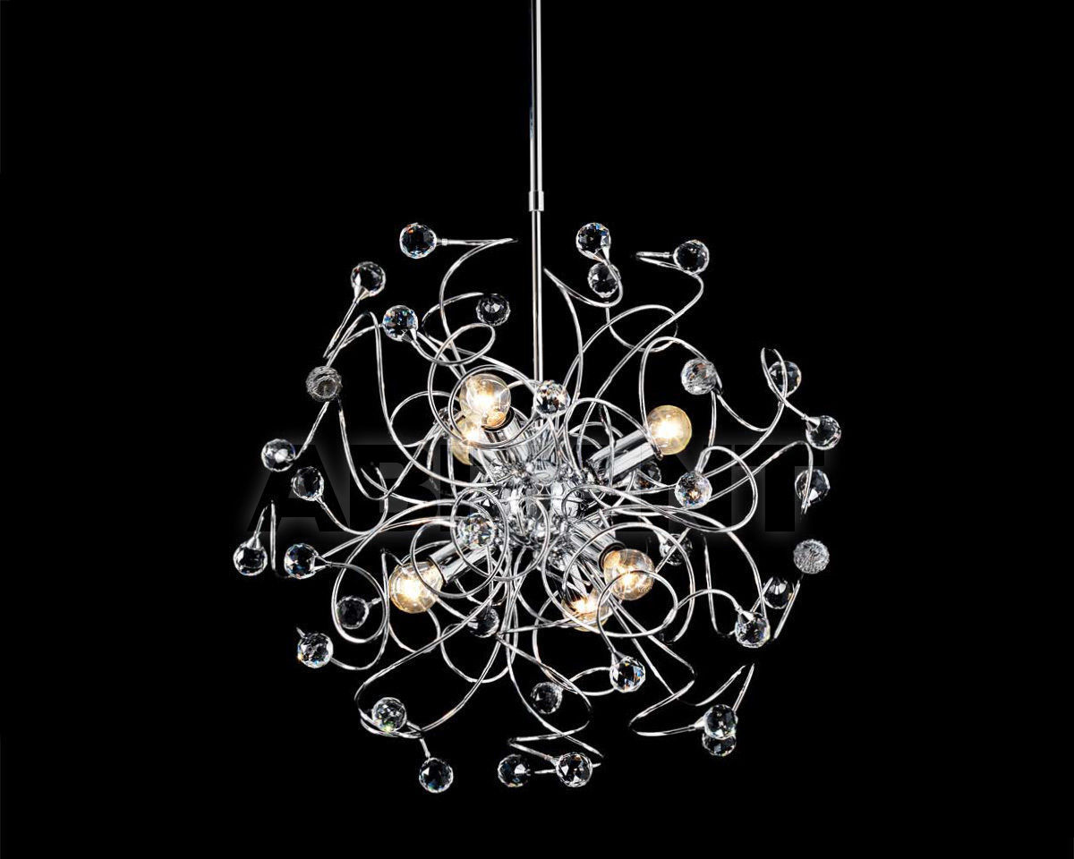 Купить Люстра Ciciriello Lampadari s.r.l. Lighting Collection PALLA cromo lampadario 6 luci