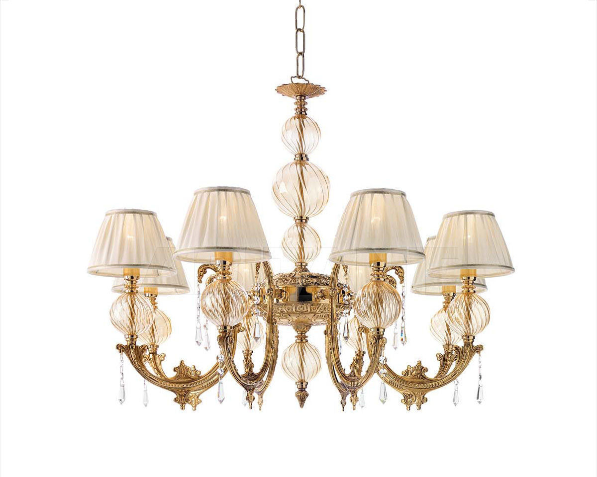 Купить Люстра Ciciriello Lampadari s.r.l. Lighting Collection NEW AMBER lampadario 8 luci