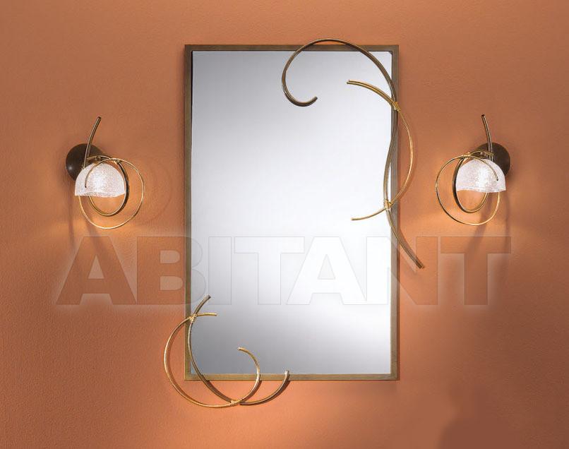 Купить Зеркало настенное  MELODIA Masca Sommary 1838/SP * bronzo lucido