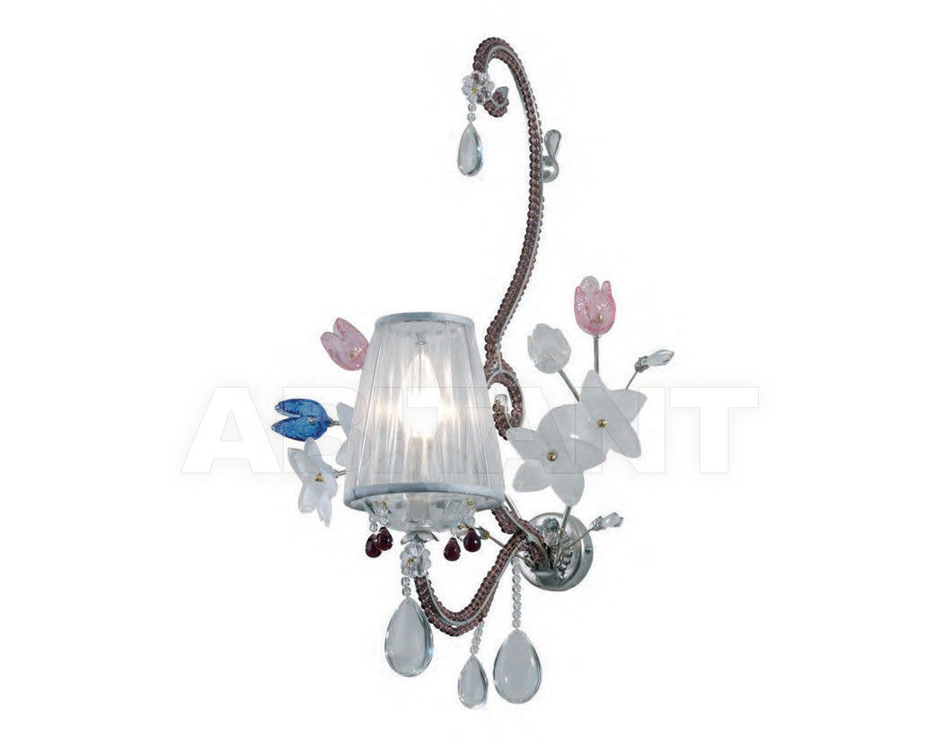 Купить Светильник настенный Tredici Design Tredici Design Collections 1360.1CRAF CP