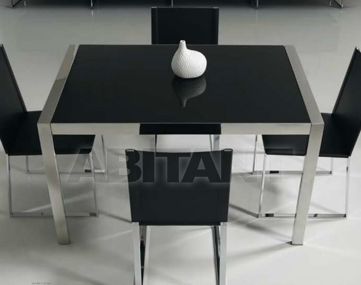 Купить Стол обеденный Di Lazzaro Tavoli Vetro STEEL - t 236