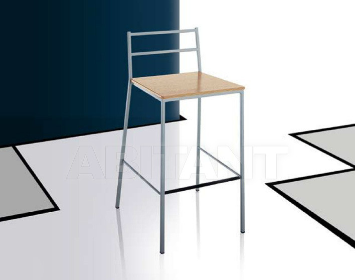 Купить Барный стул Di Lazzaro Sedie E Sgabelli In Metallo MADISON sgabello H 75 - 645