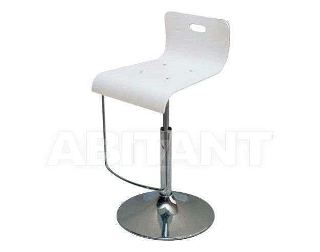 Купить Барный стул Di Lazzaro Sedie E Sgabelli In Metallo PLEXY GAS TONDO sgabello - 628