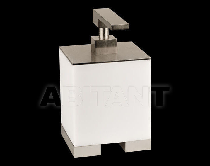 Купить Дозатор для мыла RETTANGOLO accessories Gessi Spa Bathroom Collection 2012 20837 Chrome