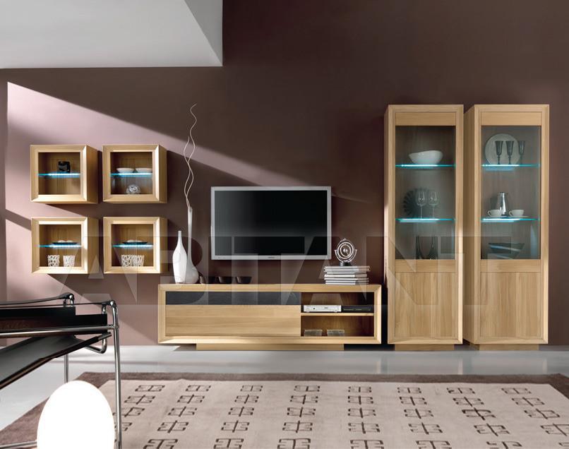 Купить Модульная система Domus  Arte Charming Oak SC/08 (x4) - SM/05 - SC/06 (x2)