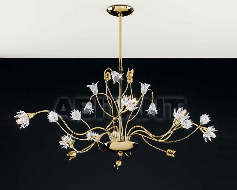 Купить Люстра Artigiana Lampadari Contemporary 833/6 oro