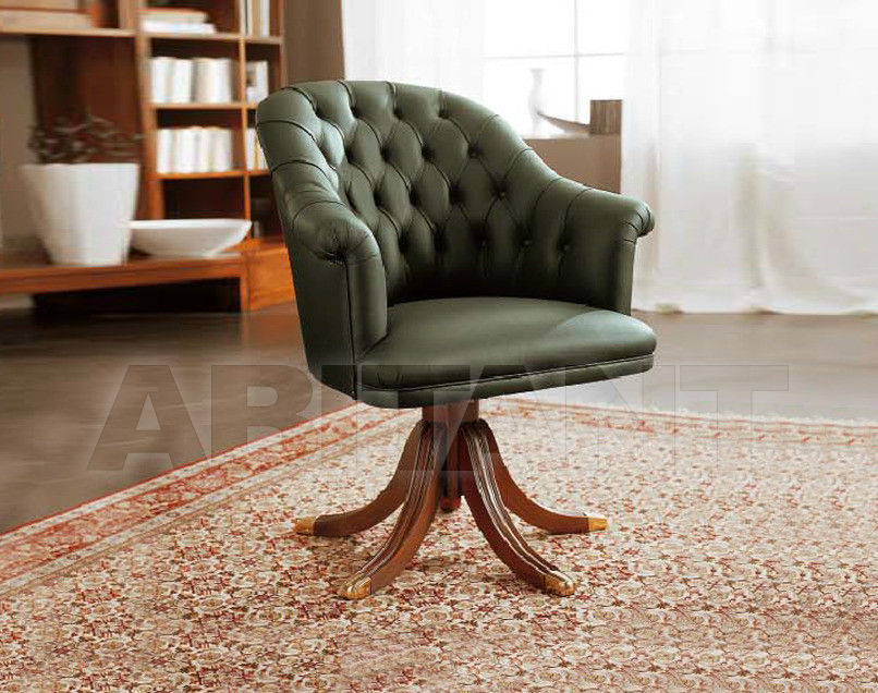 Купить Кресло для кабинета Pacini & Cappellini Classico 3214