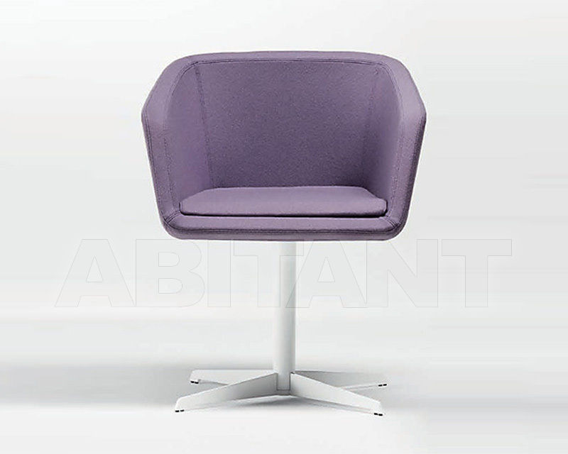 Купить Кресло Chairs&More Euro HIRO 3 purple