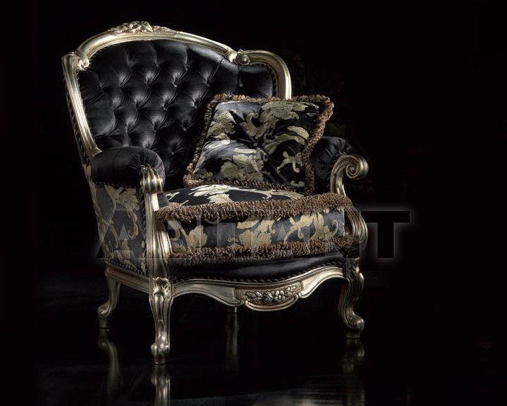 Купить Кресло REGINA  Sat Export Pubblico REGINA Foglia argento  Armchair