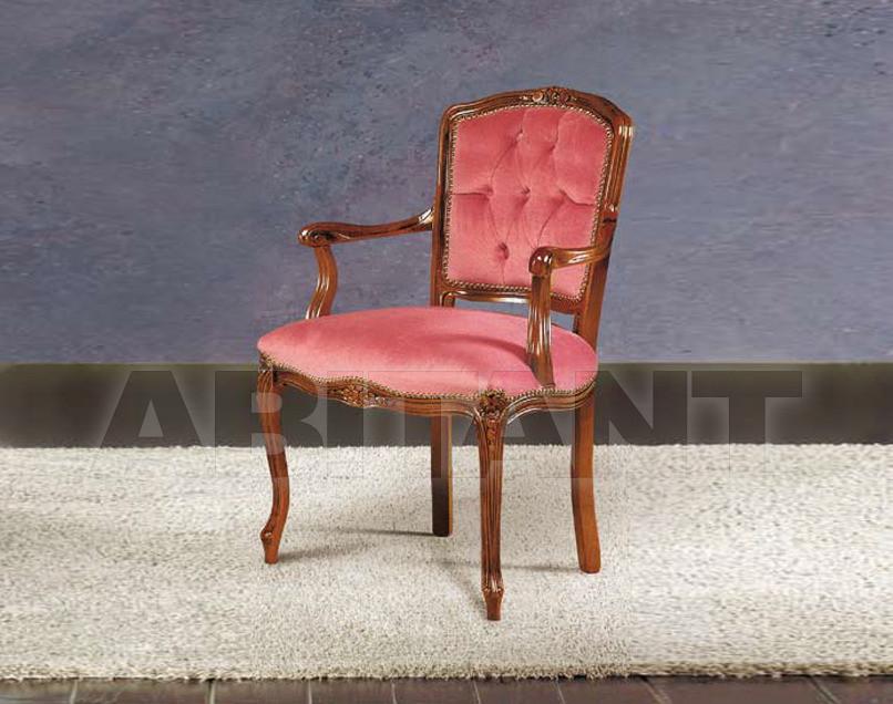 Купить Стул с подлокотниками Modenese Gastone Fenice 8410