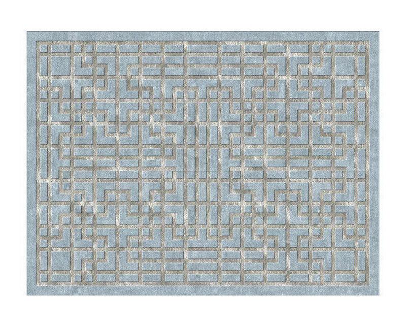 Купить Ковер дизайнерский Illulian & C. s.n.c Design Collection 88 W, 153 S ORACLE