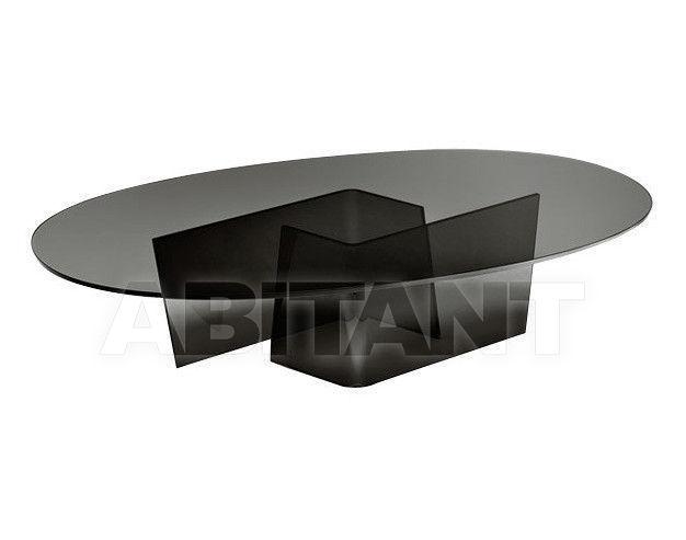 Купить Столик журнальный Fiam Tables ACCORDO OVALE 500.209