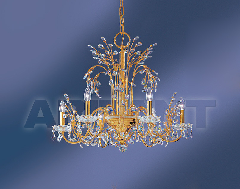 Купить Люстра Prearo Luxury Crystal AMBRA/6 24K-CR