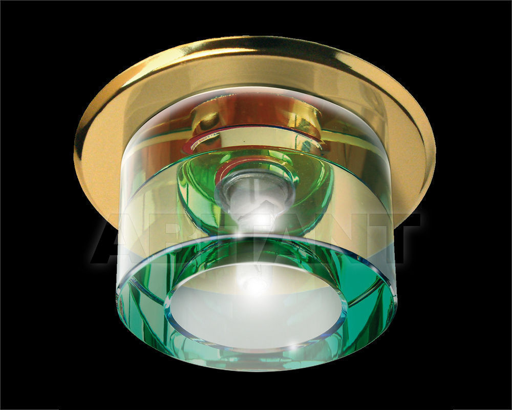 Купить Встраиваемый светильник Gumarcris  Crystal Spot Lights 1457OR